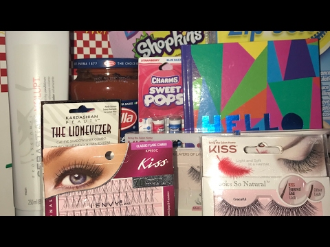 Happy Hour Hump Day Haul - KISS Lashes, Zip Sox, Emoji Pez