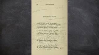 La romance du vin, Émile Nelligan