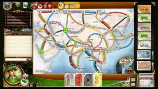 Nautilus plays Ticket to Ride. Building trains and f#&*ing bitches!