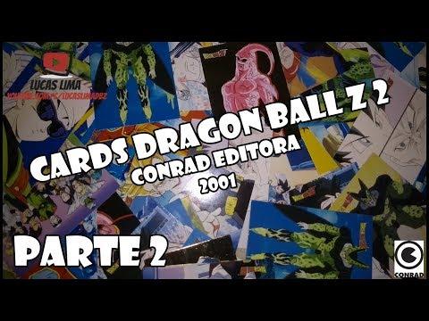 Cards do Dragon Ball Z 2 da Conrad de 2001 #2
