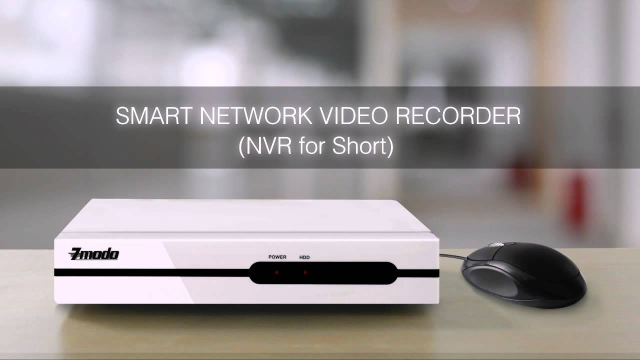 ZMODO 4CH Network NVR System with 4 IP Cameras
