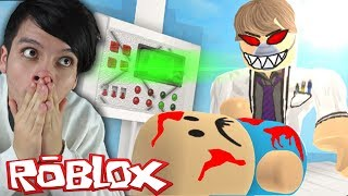 ESCAPA DEL HOSPITAL MALDITO EN ROBLOX !!