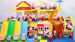 Peppa Pig Lego House Creations Toys - Lego House With Water Slide Toys For Kids #4