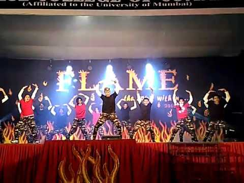 FLAME#FEST#@ GURUKUL COLLEGE OF COMMERCE DANCE