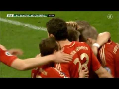 Bayern München Wolfsburg 6:1
