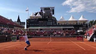Casper Ruud VS Jaume Munar, Courtview, Swedish Open 2018 (HD)
