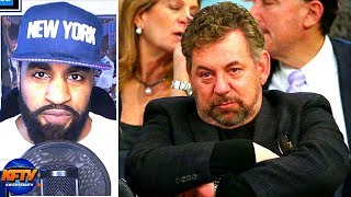 Did Knicks Owner James Dolan OVERREACT For Tossing A Fan Out Of MSG?| Knicks Fans React 🗣🏀📞