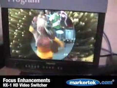 Focus Enhancements Hx 1 Hd Video Switcher Youtube