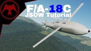 DCS F/A-18c Hornet AGM-154 JSOW Tutorial