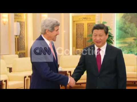 BEIJING: JOHN KERRY MEETS WITH CHINESE PRESIDENT