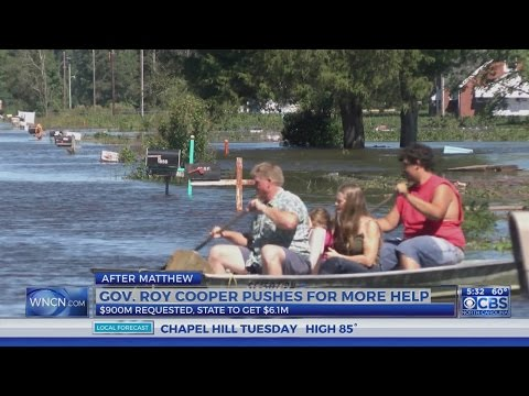Cooper to push for more Matthew aid after 99 percent denied by Trump admin
