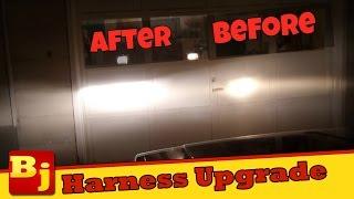 Headlight Harness Upgrade