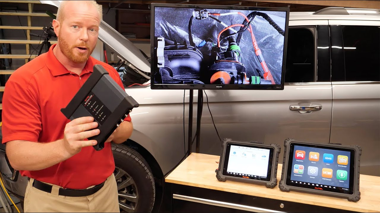 Autel MaxiSYS MS919 / Ultra Demo: How To Use Bi-Directional Tools & The  Scope Simultaneously - YouTube