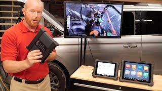 Autel MaxiSYS MS919 / Ultra Demo: How To Use Bi-Directional Tools & The Scope Simultaneously