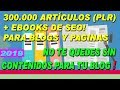 Ebooks en español con Derechos de Reventa PLR Private Label Rights