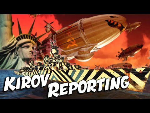 KIROV REPORTING!!!  (World of Warships Epic Kirov Montage & Review)