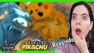 😱 Reagindo a POKÉMON Live Action Detetive Pikachu com FORTES EMOÇÕES
