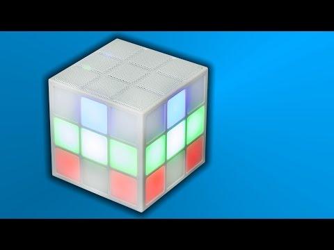 Rubik's SoundCube Bluetooth LED Speaker