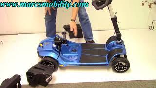 Pride Revo 2.0 New Portable 375LB Capacity Scooter
