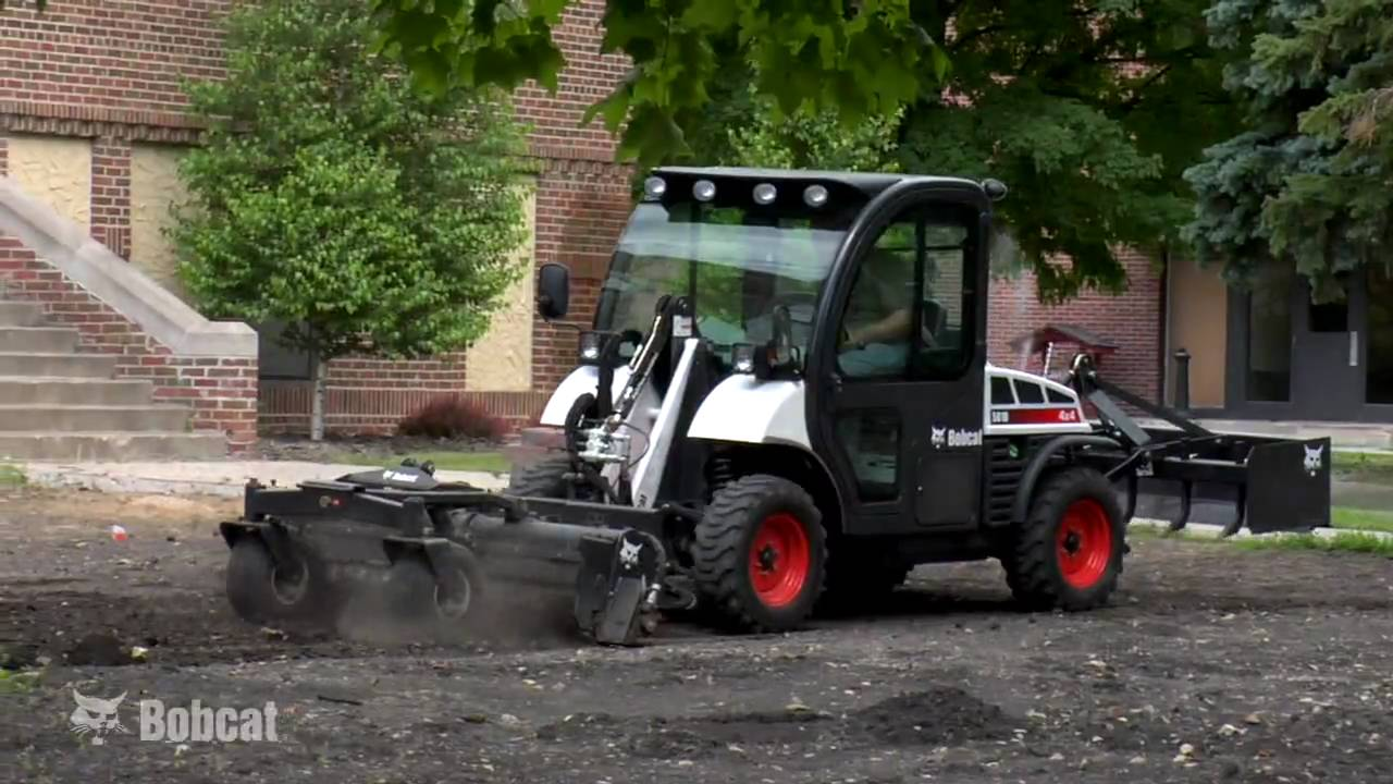 Toolcat Utility Work Machines: Any Day, Any Job - YouTube