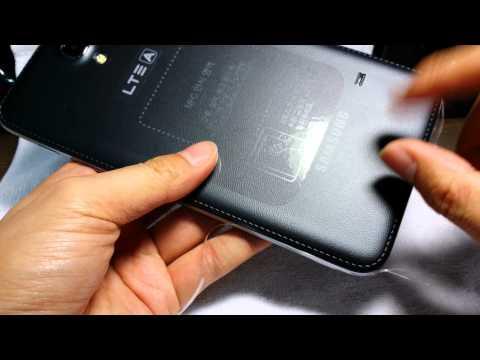 [4K] 01 삼성 갤럭시 W 개봉기- Samsung Galaxy W Unboxing(galaxy mega2)