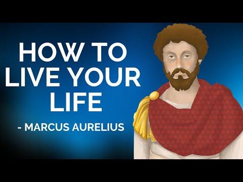 Marcus Aurelius How To Live Your Life (Stoicism)