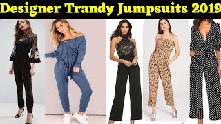 Designer jumpsuits in trandy design for women |
