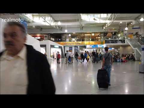 Athens Airport Walkinbg Around