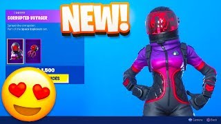 Fortnite Item Shop! *NEW* CORRUPTED VOYAGER SKIN! (August 21, 2019)