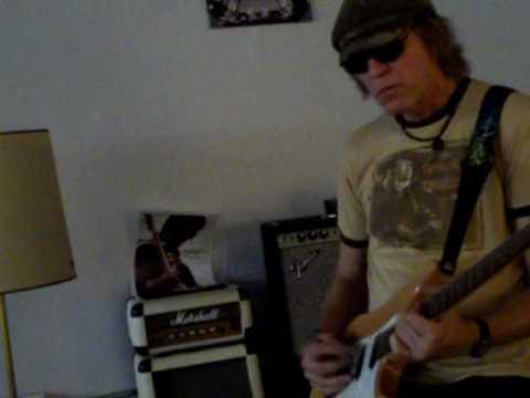 blues rock guitar improv Craig Erickson
