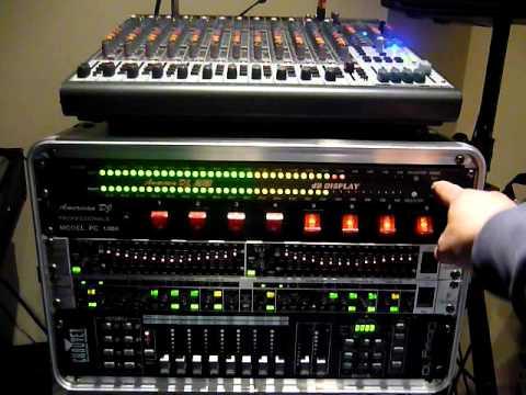 American DJ Audio dB meter