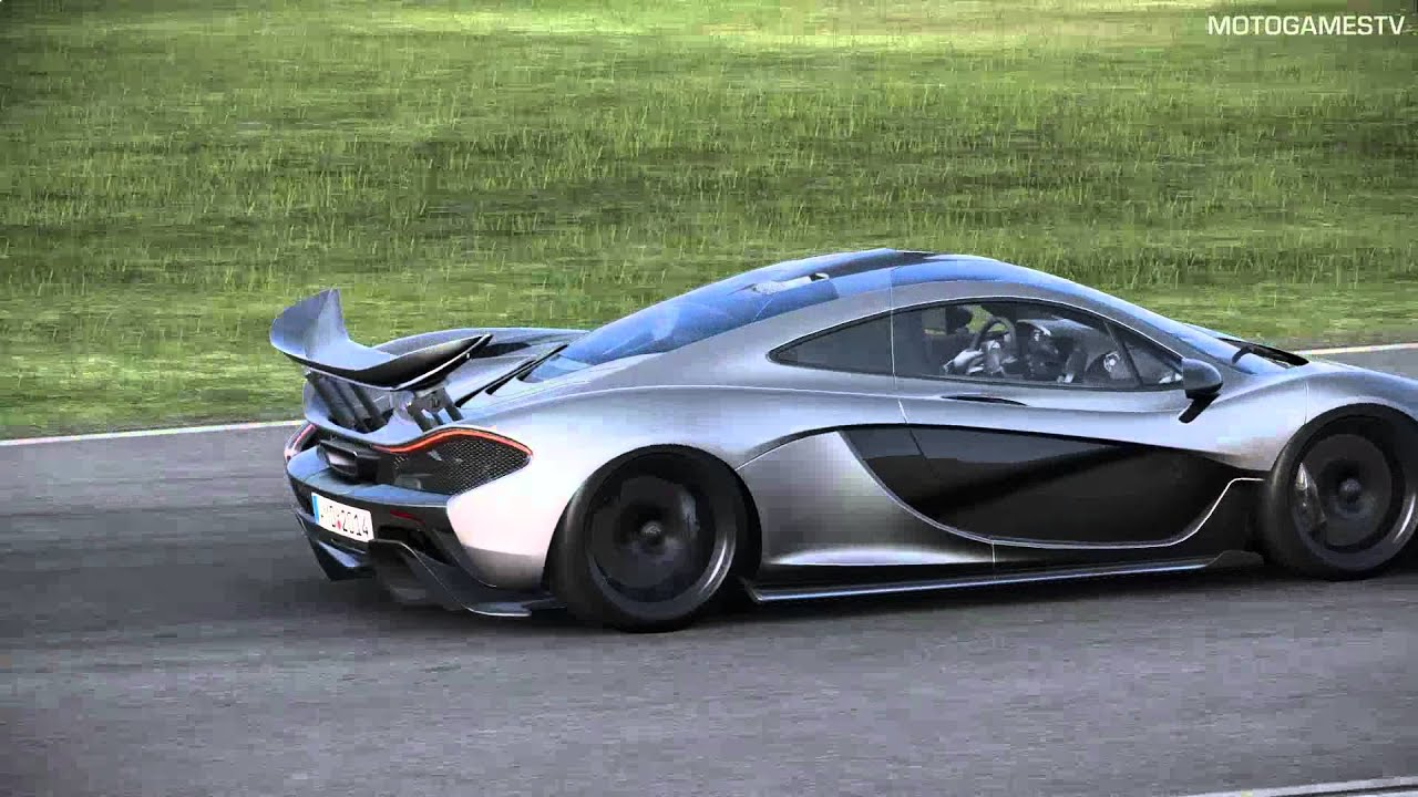 Project Cars Build 780 Mclaren P1 At Snetterton Replay Youtube