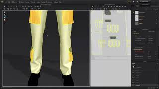 Level 1-10 Cargo Pants_ 3 Make gusset pockets
