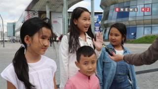 Устами младенцев глаголет истина. Что говорят дети об ЭКСПО-2017?