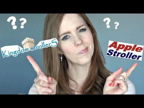 Stroller Rental Companies At Disney World | Kingdom Strollers Vs. Apple Strollers