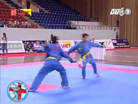 song luyện kiếm Vô địch thế giới 2009. Minh Cần thơ