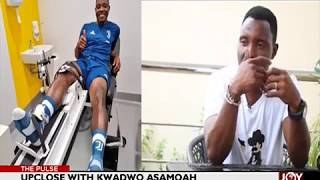 Upclose with Kwadwo Asamoah - The Pulse Sports on JoyNews (26-7-18)