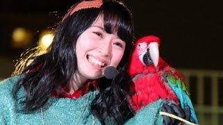 アイドルグループ「SKE48」の高柳明音さんが12月18日、東京・池袋のサンシャイン水族館のクリスマスイベント「バードフライングショー」に登場。大みそかに放送される「 ...
