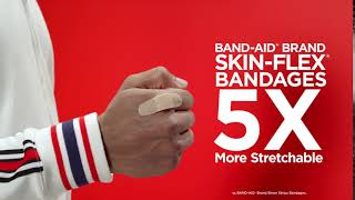 Pass the Handshake Test with Skin-Flex® Bandages   BAND-AID® Brand Adhesive Bandages