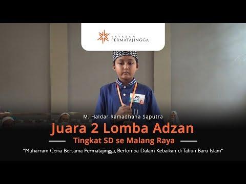 Seperti Adzan Mekkah Siswa SD Dari Malang, Inilah Juara 2 Lomba Adzan Tingkat SD se Malang Raya