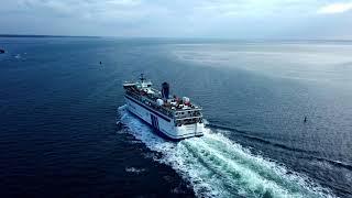Aankomst Friesland haven West Terschelling