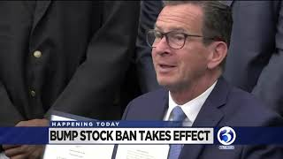 VIDEO: Bump stock ban takes effect today