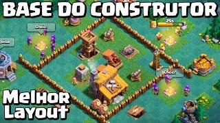 BASE DO CONSTRUTOR #02: DICAS CASA NÍVEL 3! LAYOUT INSANO! Clash of Clans