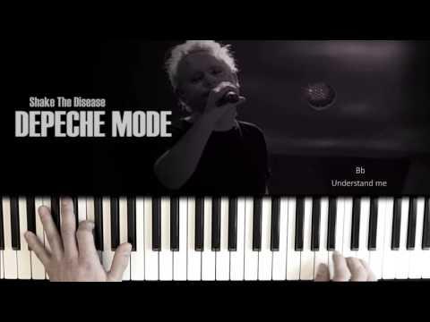 Depeche Mode Shake The Disease Piano Tutorial