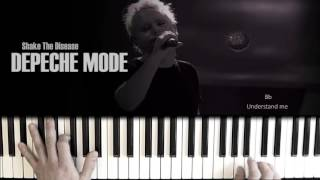 Depeche Mode Shake The Disease Piano Cover