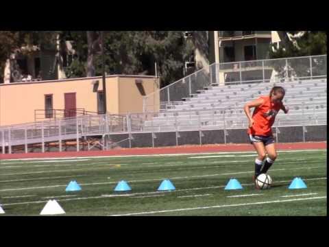 1507 Claire Dworsky, Saint Ignatius #23 Soccer Training & highlights