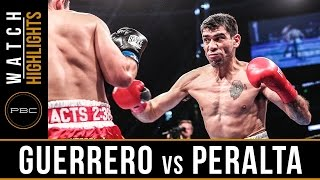 Guerrero vs Peralta HIGHLIGHTS: August 27, 2016 - PBC on Spike