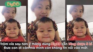 Nhờ BigBB bé trai An Giang tăng 5 ký sau 2 tháng!