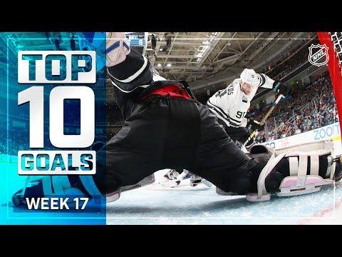 Top 10 Goals from Week 17