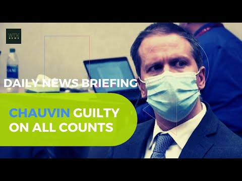 George Floyd: Jury finds Derek Chauvin guilty of murder - Wednesday's News Briefing